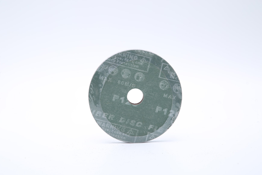 Vulcanized fiber grinding round hole 125 mm in 120