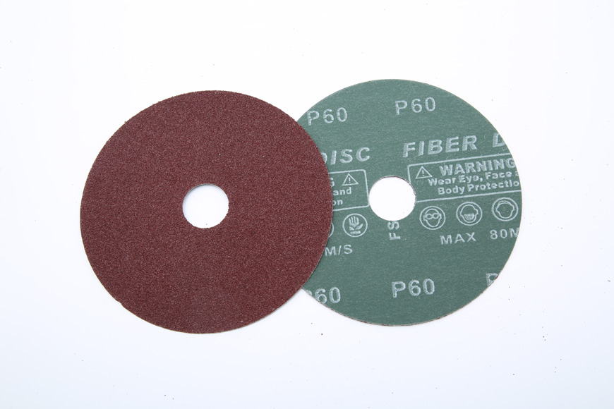 Vulcanized fiber grinding round hole 60 to 125 mm