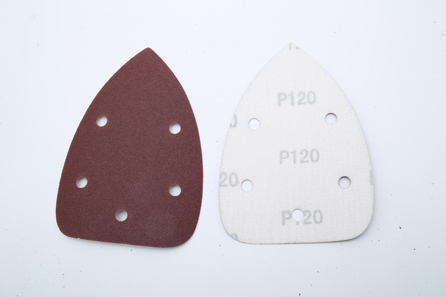 Flannelette piece of brown fused alumina rattus norvegicus 140 mm - 100 - mm hole